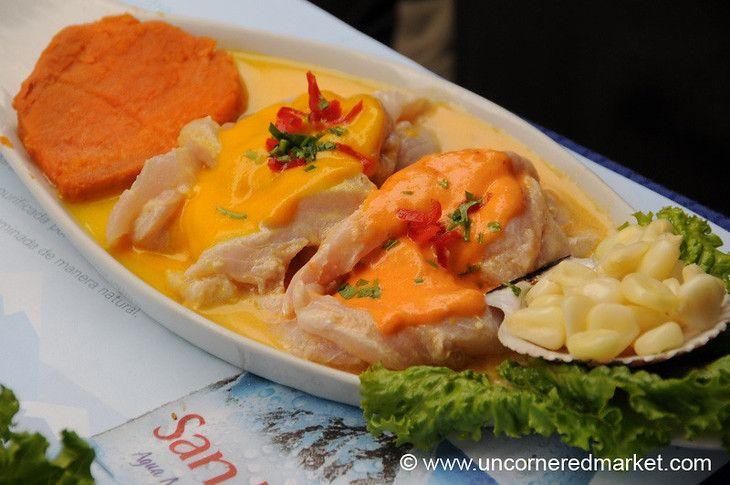 Tiradito with Aji and Rocoto Sauces - Lima, Peru