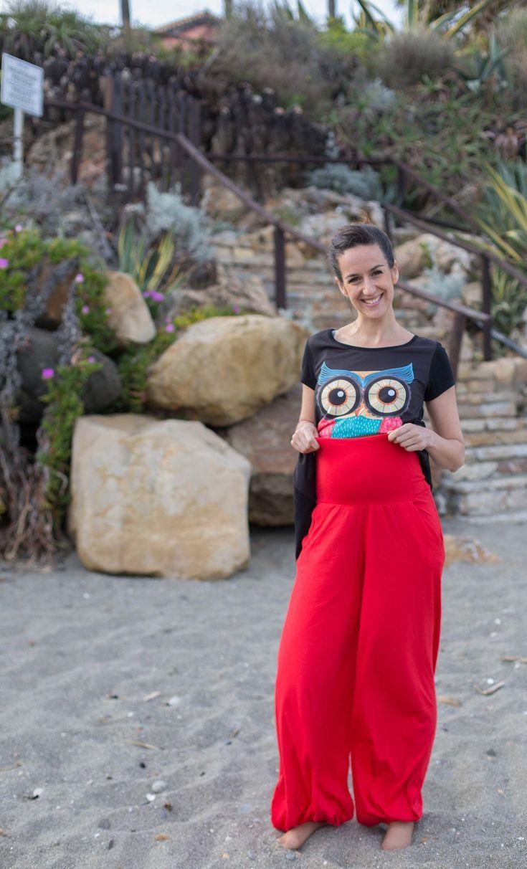 Pantalón globo senciallo Natalie Ref 2817 Es un clásico y básico de Yoël Collection, que no debe faltar en tu armario. Pantalón unisex lo usan las chicas y los chicos, es super cómodo y muy recomendables también para hacer yoga, pilates, para las embarazadas.. #pilatesparaembarazadas
