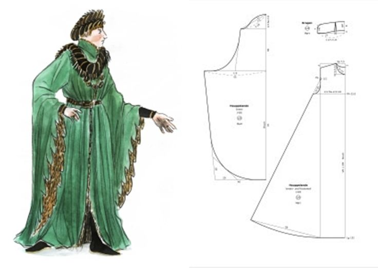 The Prince's costume. Or perhaps what he's wearing when Mercutio comes to see him.