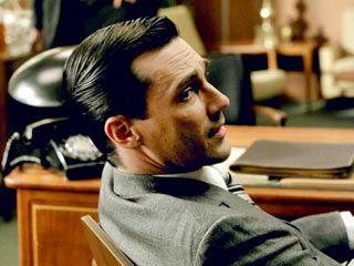 Don Draper | Mad Men | #hair - incredible and unforgettable.