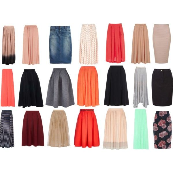 """sister missionary skirts;;"" by livingafairytale on Polyvore"