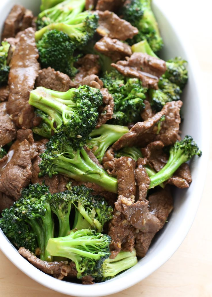 chinese beef and broccoli stir fry recipe - Barefeet in the Kitchen