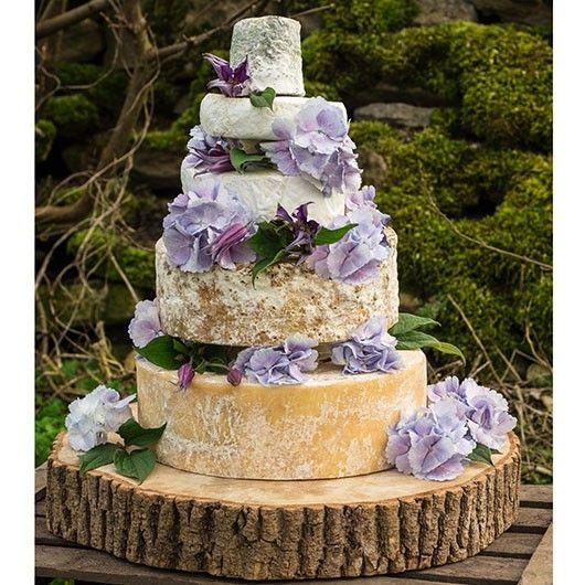 Georgina Cheese Wedding Cake