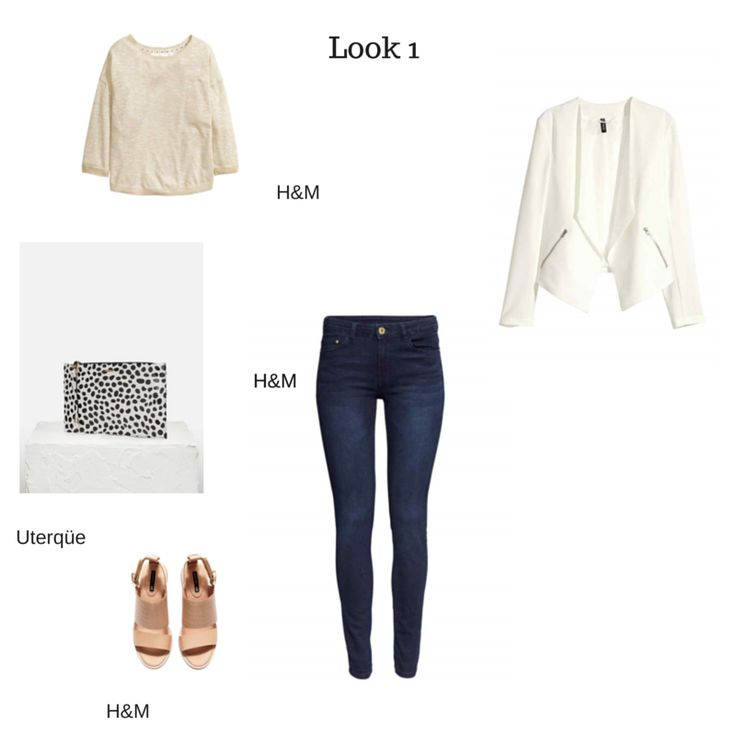Casual #outfit perfecto para el trabajo