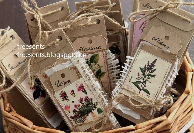 О разных мелочах...: Чайные подарки :)