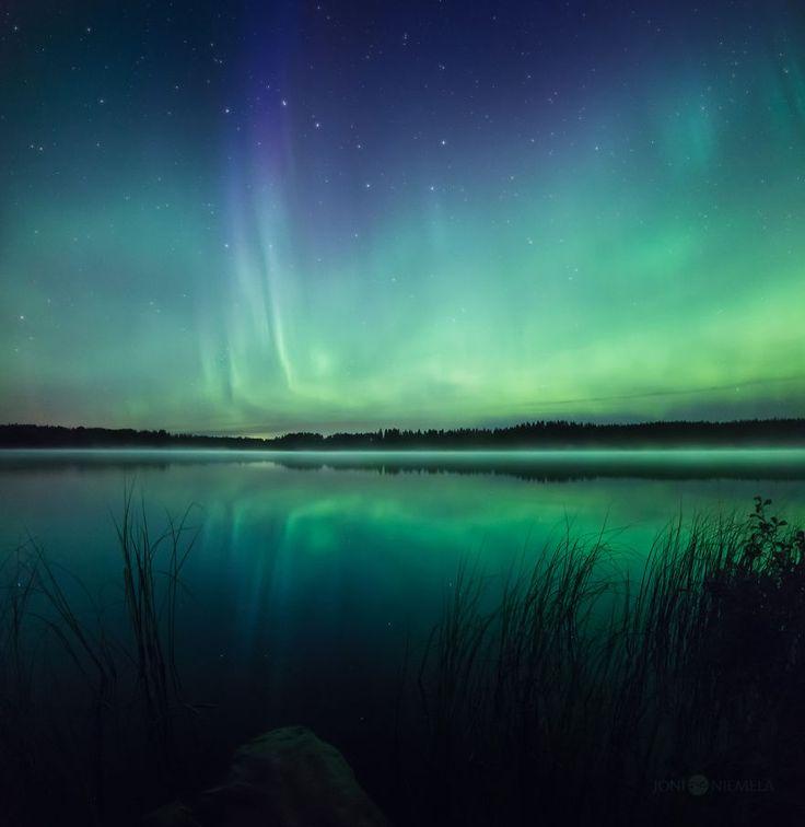 aurores boréales de Finlande par Joni Niemelä  2Tout2Rien