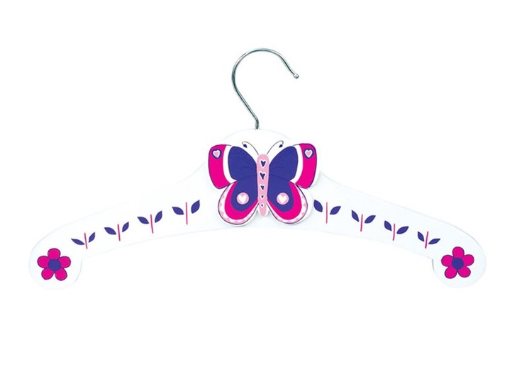 how to make a butterfly with wire coat hangers