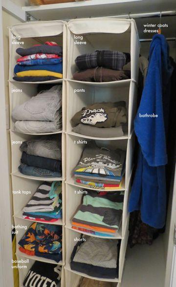 Clever Closet Solution from Kempton Jones via momfilter