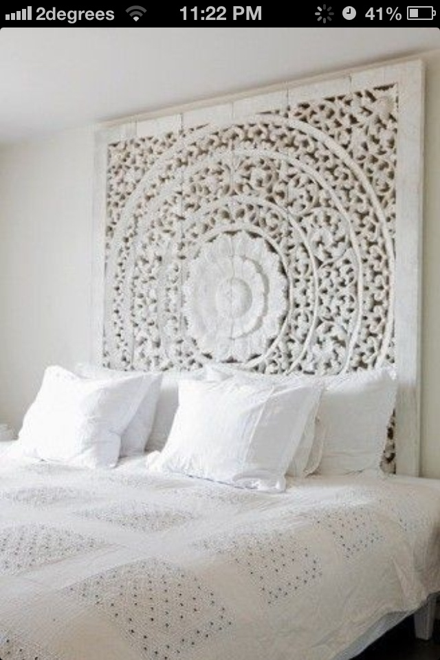 Lovely bedroom white clean fresh