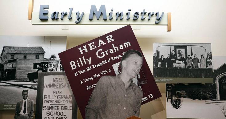 Wheaton College students learning about Graham's influence #college