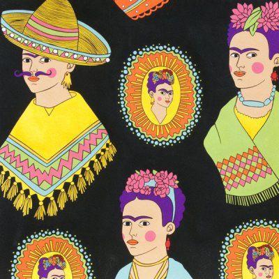 Black Frida Fantastico Alexander Henry Scenes 1 by TheCraftyTree