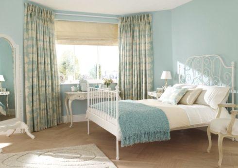 Duck Egg Blue Bedroom