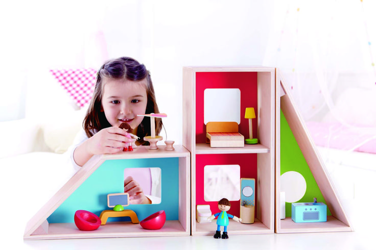 Casa delle Bambole Moderna  Hape Italia