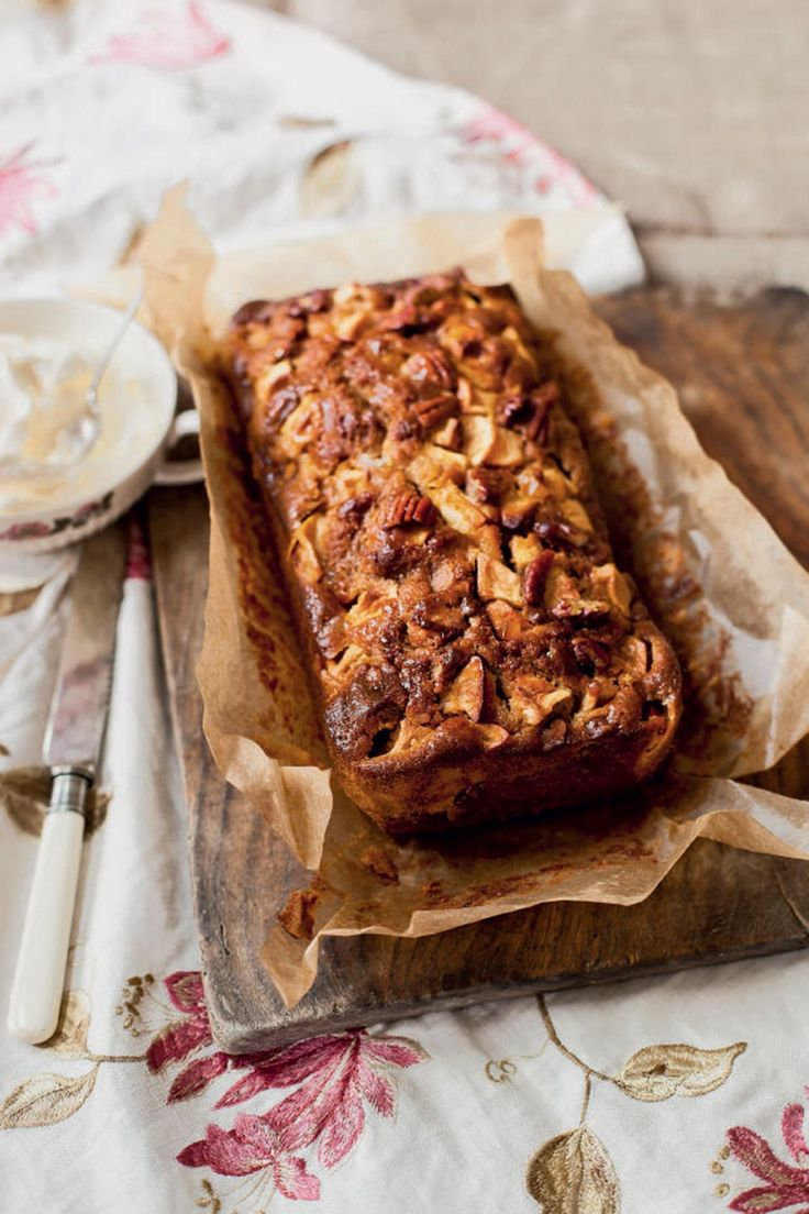 The perfect teatime treat. Make the most of British apples with this autumnal of gingerbread cake recipe.