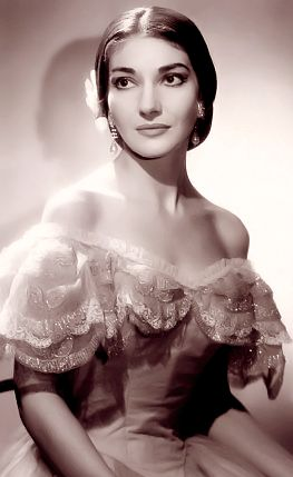 Maria Callas (Cecilia Kalogeropoulos) (December 2, 1923 - September 16, 1977) Spanish operasinger.