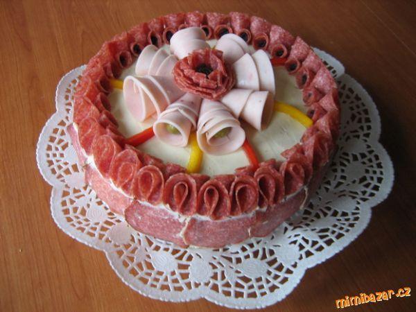 slaný dort pekne