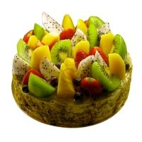 FRUITY CAKE: send cake with fruit in india, delhi:flowershop18.in