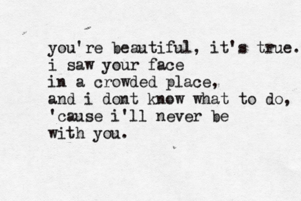 You're Beautiful - James Blunt  sailboatstonostalgia: James Blunt Lyrics, La La La Lyrics, Music Lyrics, You'Re Beautiful Lyrics, Lyrics James, You Re Beautiful, Song Lyrics, Lyrics 3