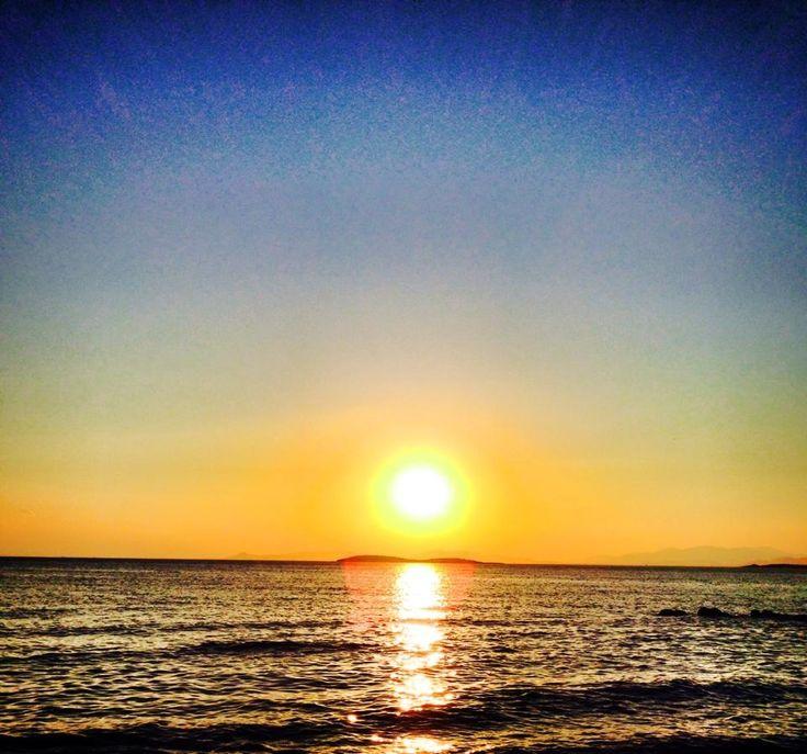 Sunset in #Glyfada