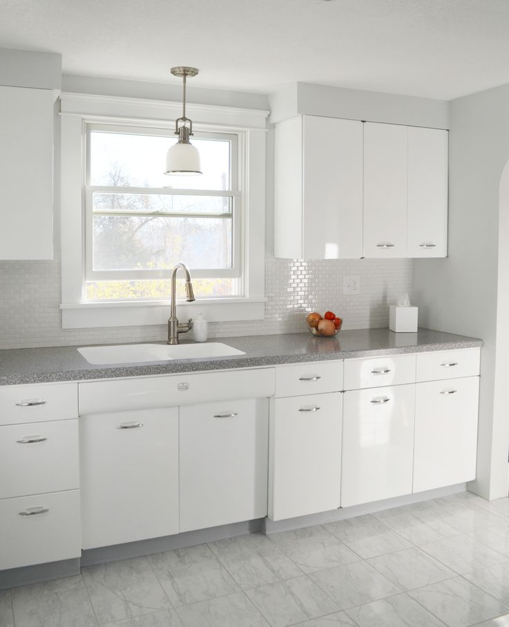 Hackel Construction, Inc. Remodeled This 1950u0027s Kitchen By Having The  Geneva Brand Metal Cabinets