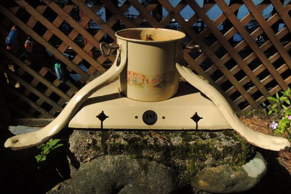Jack Horner Tree Stand Christmas Vintage by BlueBarnCollectibles