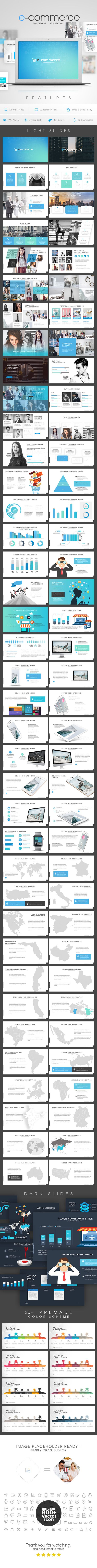 Ecommerce  — Powerpoint PPTX #Social Marketing #creative • Download ➝ https://graphicriver.net/item/ecommerce-power-point-presentation/19644646?ref=pxcr