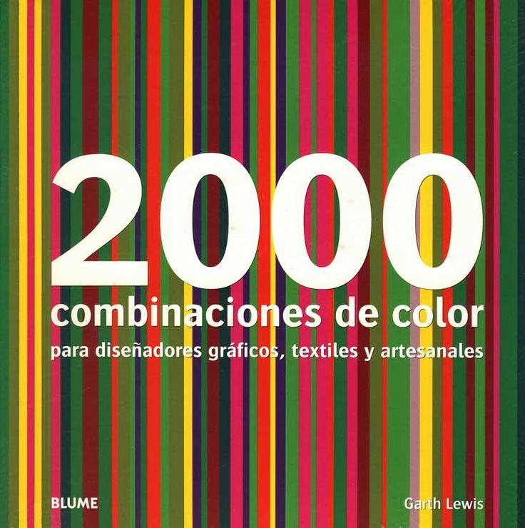 #Libros #diseño 2000 combinaciones de color Garth Lewis Blume