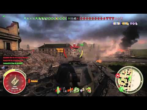World of Tanks Beta Xbox One Gameplay - Löwe - YouTube