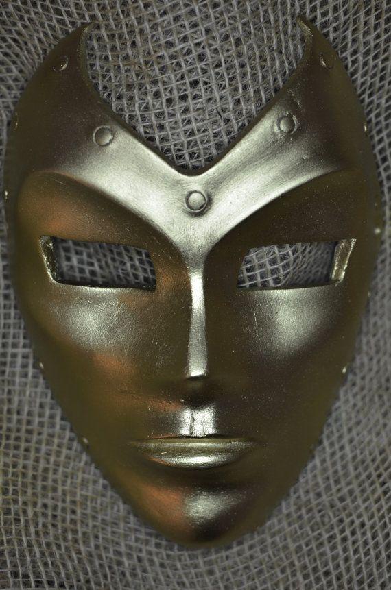 Madame Masque!  Iron Man villain's golden mask!