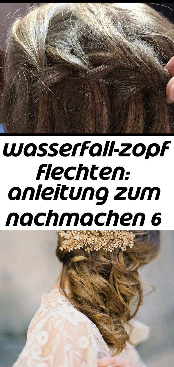 Wasserfall Zopf Flechten Anleitung Zum Nachmachen 6 Hair Beauty Dreadlocks
