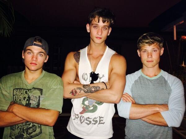 Dylan Sprayberry , Cody Saintgnue and Mason Dye