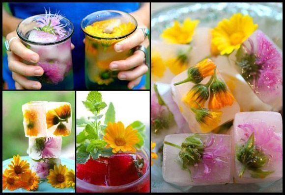 gelo decorado com flores e rosas para festas e eventos