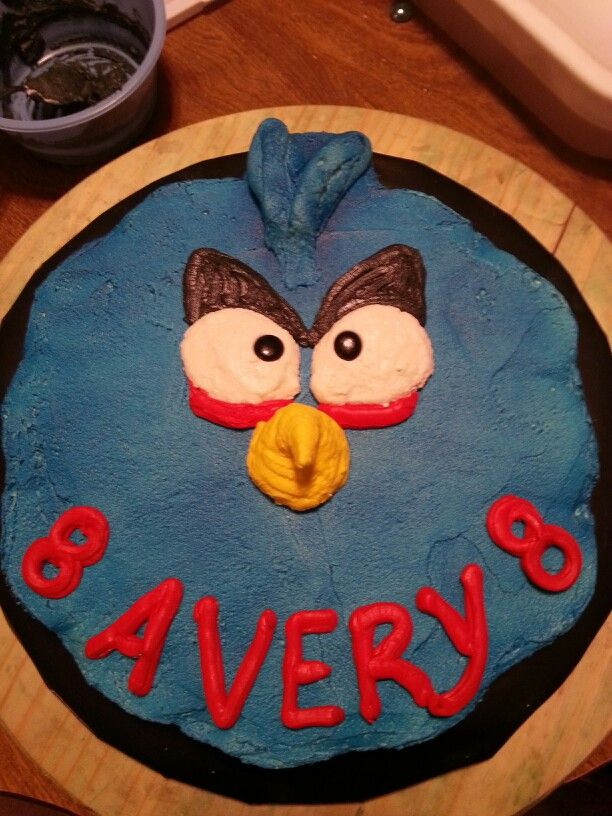 102 best my cakes images on pinterest baby showers baby sprinkle angry bird pull apart gluten freevegan birthday cake publicscrutiny Choice Image