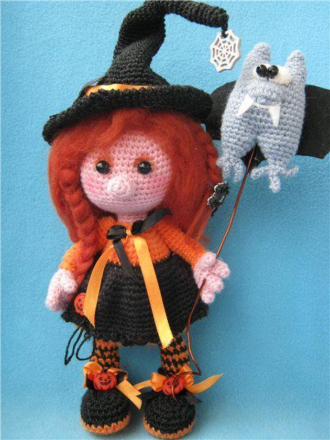 crochet amigurumi witch - Pesquisa Google Amigurumi ...