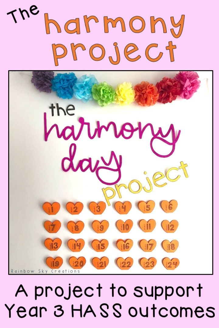 The Harmony Project - Cultural Diversity - Year 3 HASS {Harmony Day