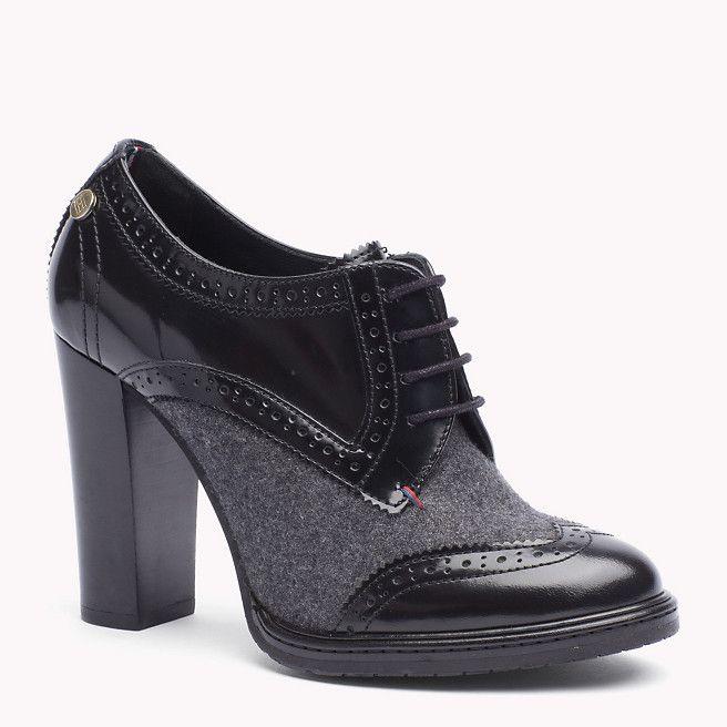 Tommy Hilfiger Gracie Ankle Boots - black/dark grey (Schwarz) - Tommy Hilfiger Stiefeletten - Hauptbild