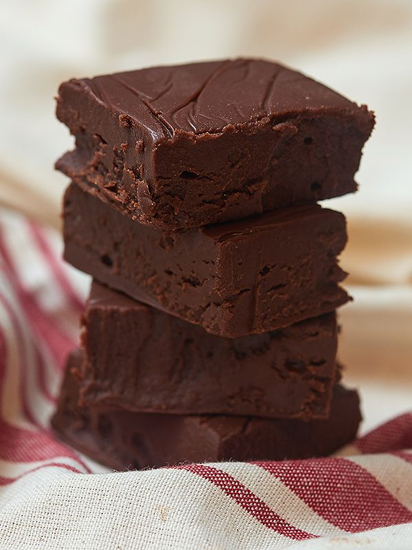 This easy chocolate fudge is ultra thick, smooth, creamy, and extra chocolatey. All you need is one bowl, five ingredients, and a microwave!