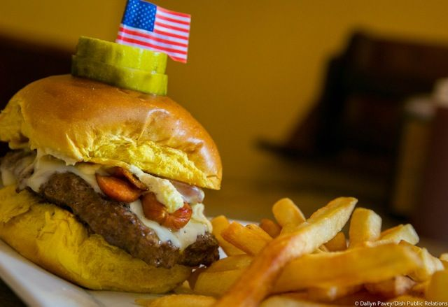 On Thursday, September 11th, 2014: ALL FIRST RESPONDERS (law enforcement, firefighters and EMS) will receive a FREE 'Merica Burger with fries and a soft drink. First responders must be in uniform or bring a current badge or identification.