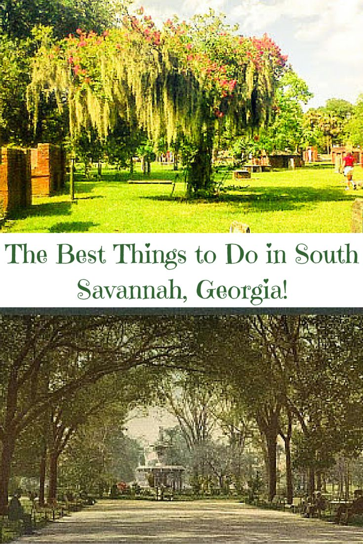 Find out the best things to do in Savannah, Georgia's Southern Historic District!