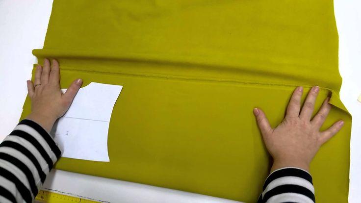 Online kurz šití kalhot ze softshellu - střihová příprava I