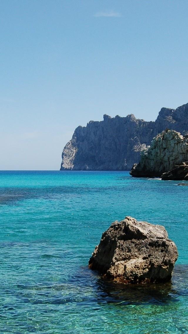 Cala De Sant Vicent, Ibiza, Spain Makes me so jealous of my boyfriend...