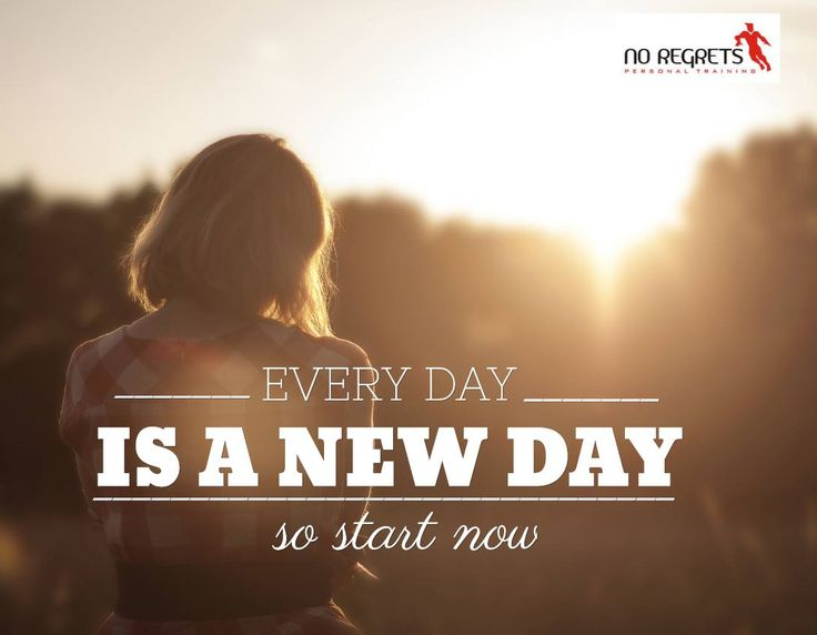 Are you thinking about New Year's resolutions or making some changes to your health for 2016? No matter what mistakes you made this year or even today, every day is a new day and a chance to make a new start. So start now! http://www.noregretspt.com.au/index.php/resources/blog/43-2014/166-motivation-willpower-changing-lifestyle-habits