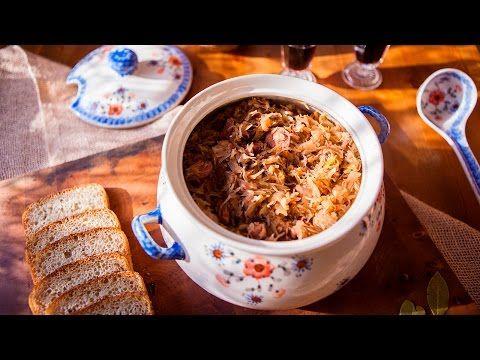 Un viandante in cucina: Bigos - spezzatino di carne e crauti - ricette pol...