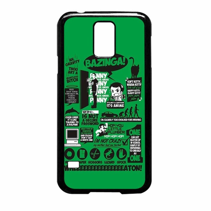 ... S5 Case : Big Bang Theory Quotes, Big Bang Theory and Galaxy S5 Case