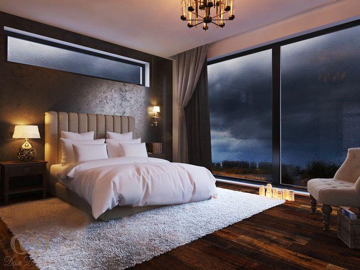7.2 В доме высокие потолки, теплые или мягкие полы из натуральных материалов и много пространства и света. Я не люблю нагромождение мебели. В спальне можно камин :)
