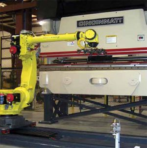 Still reluctant to automate your press brakes? Time to rethink this while you still can, because the latest robotic automation has proven it can reduce your part costs and level the playing field with foreign competition.
