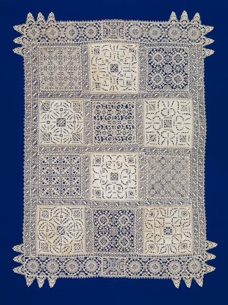 Reticella lace (early 17th century) National Gallery of Victoria, Melbourne