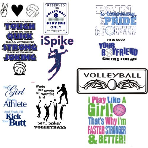 Volleyball T-Shirt Sayings | volleyball sayings funny image search results