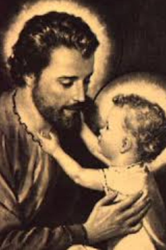 St. Joseph loved by Jesus (via Mary Jo Dobkowski) my dad has this hanging in his room I've seen this picture twice in 21 yrs