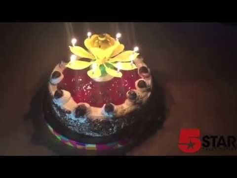 Blooming Lotus Birthday Candles – 5starsalesoutlet.com
